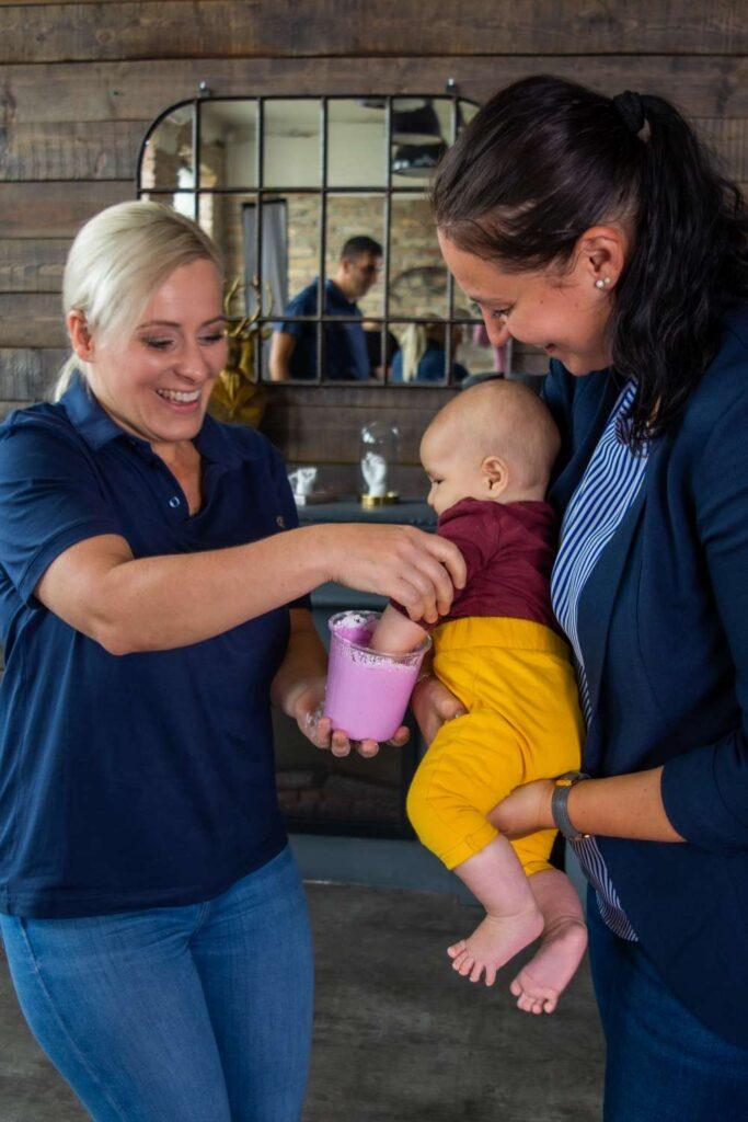 Ajándék kézszobor babákról Happymemories
