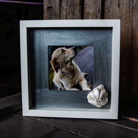 Tappancs lenyomatkészítés ajándéktárgy kutyákról.